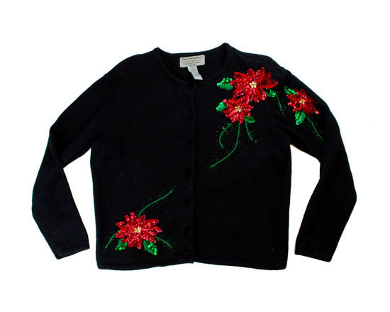 Sequences Flowers-Large Christmas Sweater