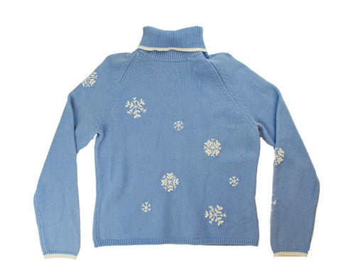 Simple Snow-Medium Christmas Sweater