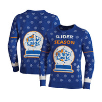 2020 White Castle Restaurant Lighted Ugly Christmas Sweater- What you Crave!
