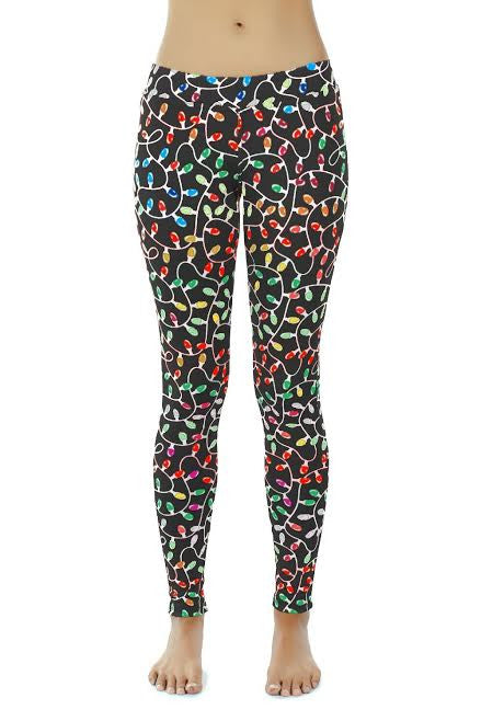 Christmas Light Leggings