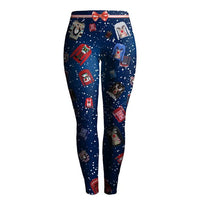 Ugly Christmas Sweater Leggings