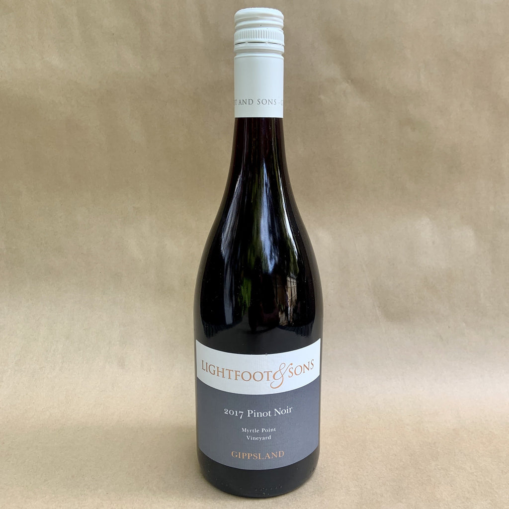 Lightfoot & Sons Pinot Noir (Gippsland, 2017)