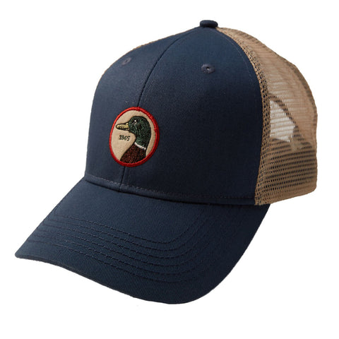 Duckhead Circle Patch Trucker Hat