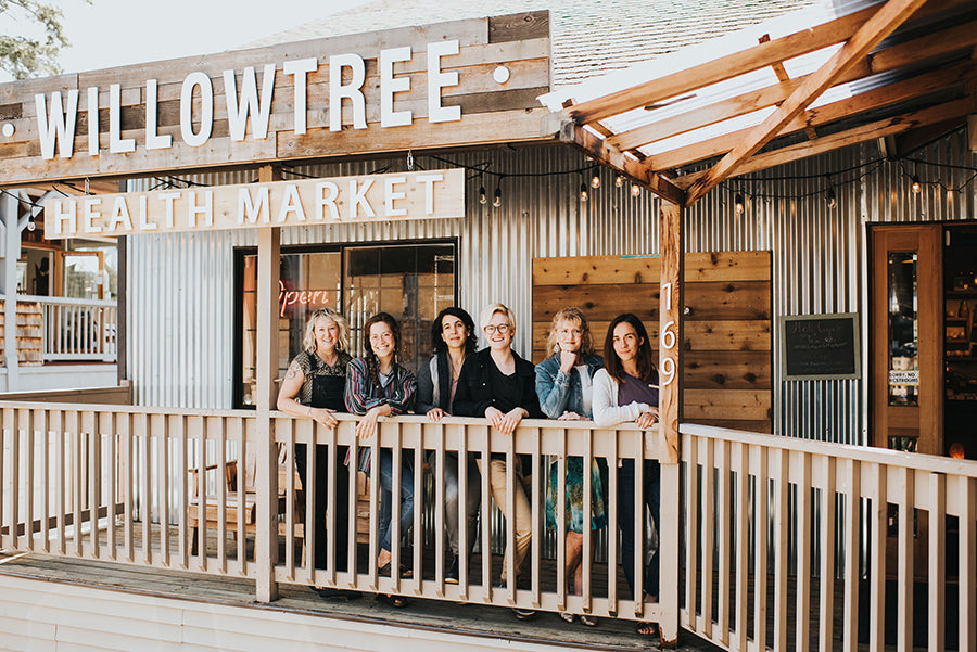 Willowtree Market staff in front of storefront