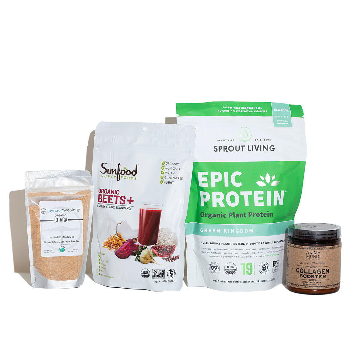 Products included in the Elevate Your Smoothie Kit