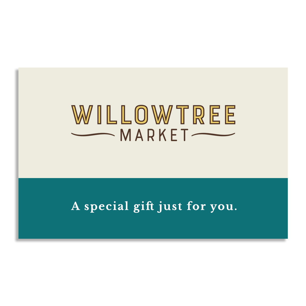 Willowtree Market gift card