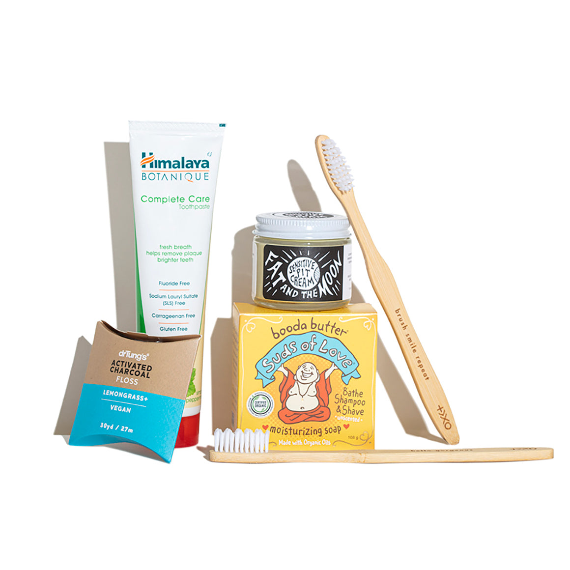 Products included in the Natural Toiletries Kit