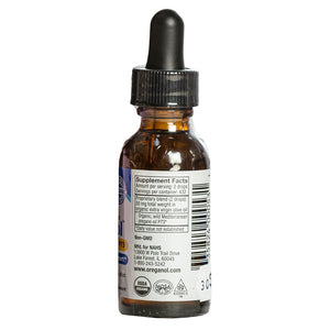 North American Herb & Spice Oregano Oil, 30ml bottle back