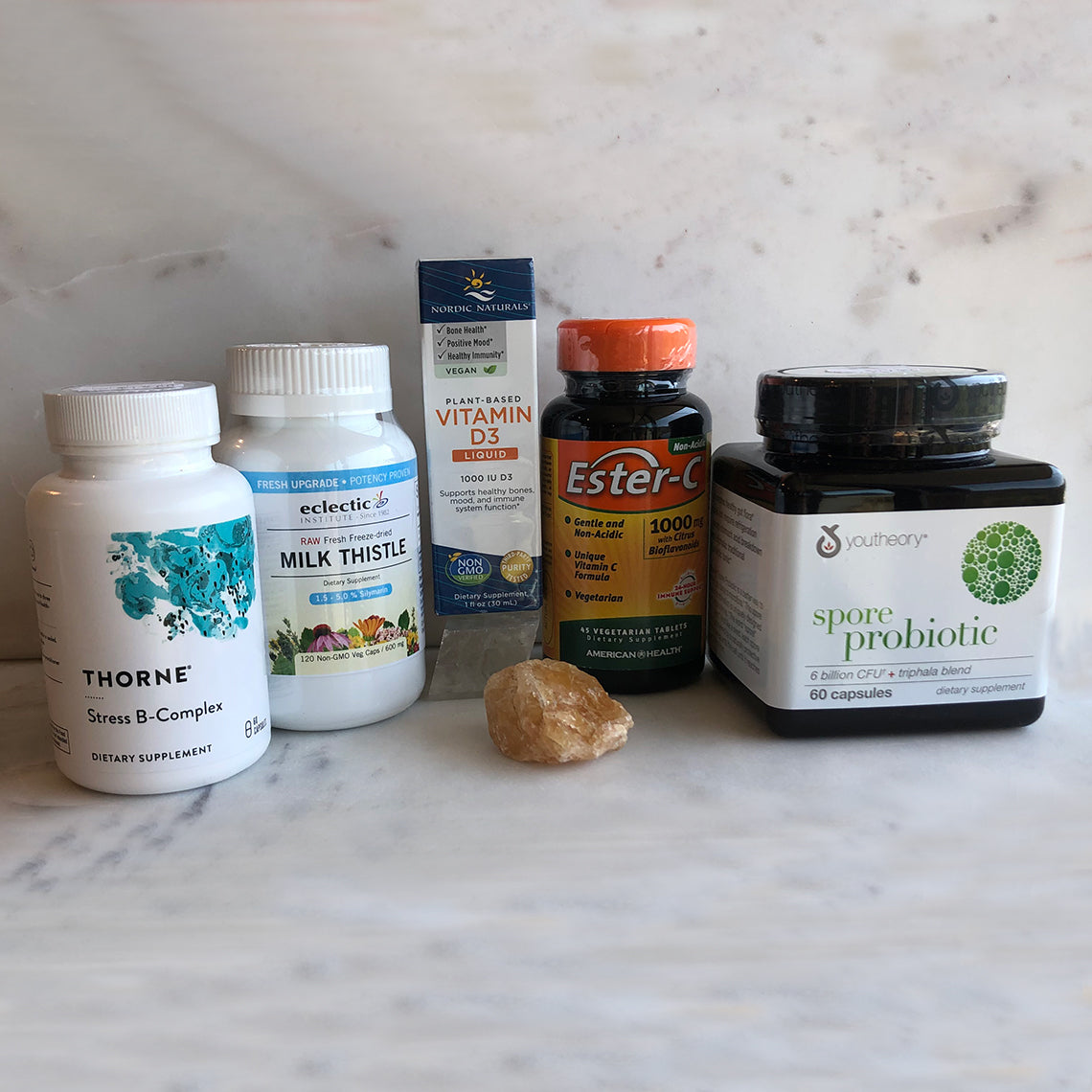 Detox Support Supplements for Jessica's Summer 5 Day Detox For Beginners