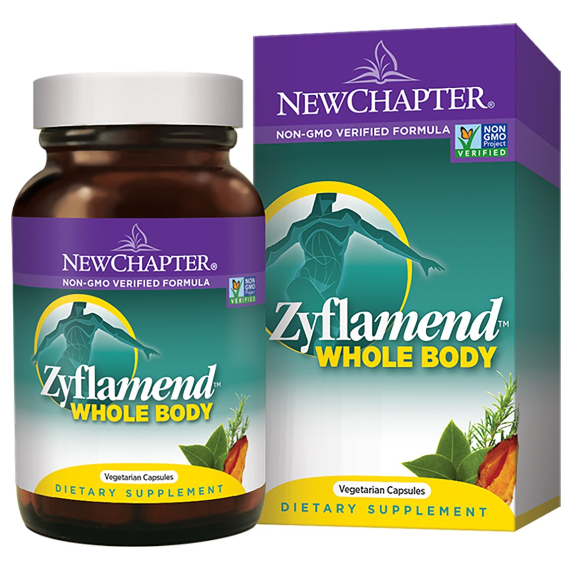 New Chapter Zyflamend Whole Body packaging