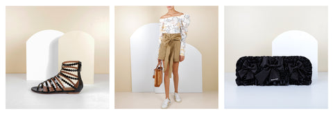 what to wear, vacation, post covid, travel, outfits, dressing, ready to wear, bags, shoes, accessories, Alaia, Silvia Tcherassi, Balenciaga
