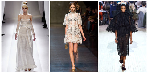 Fall, Trends, Winter, Lace