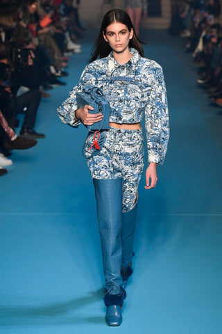 Off-White, Floral, Fall, Ready to Wear, Fashion, Pants