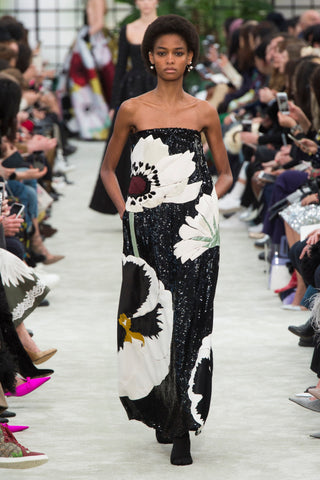 Valentino, Floral, Fall, Ready to Wear, Fashion