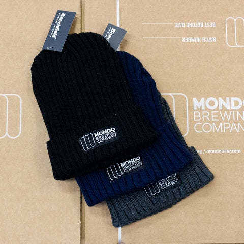 Mondo Brewing Ribbed Beanie
