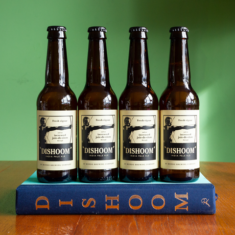 Dishoom Cookery Book + 12 x Dishoom 5.0% IPA | Combo