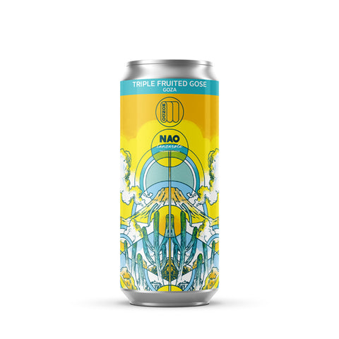 Goza (Cerveza NAO collaboration) 4.7% Fruited Gose | 12 and 24 packs