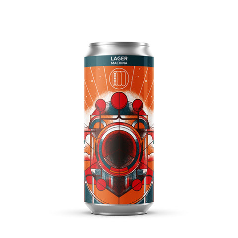 Machina 4.1% Lager | 12 and 24 packs