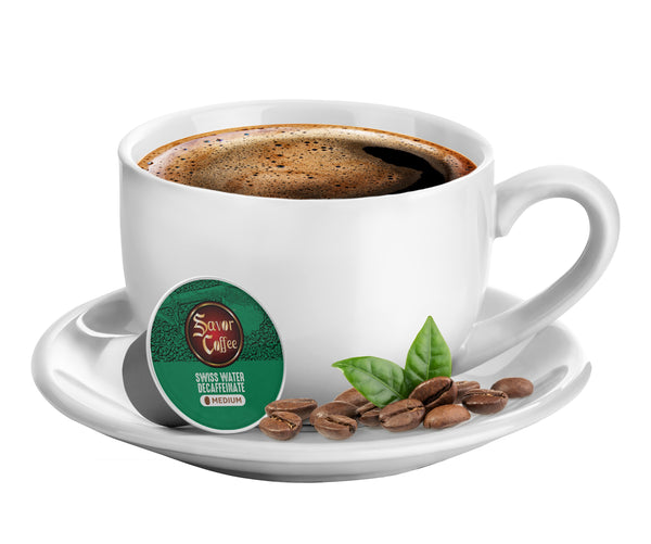 K-CUP SWISS WATER DECAFFEINATED