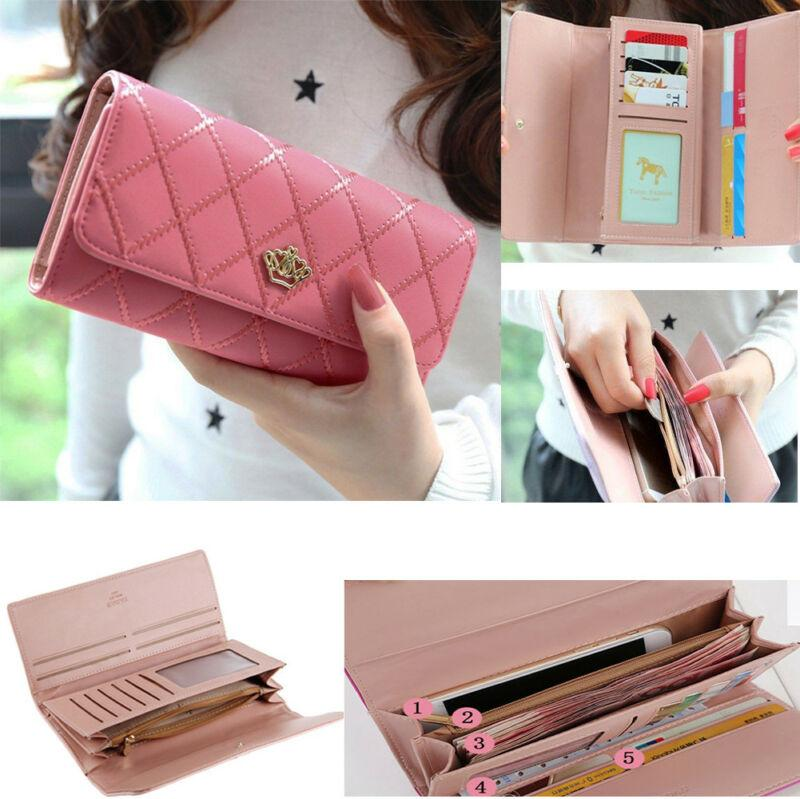 Women Wallet Quality PU Leather Long Style Hot Purses Wallet