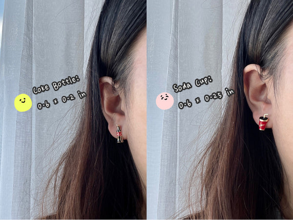 Best Meal Combo Stud Earrings
