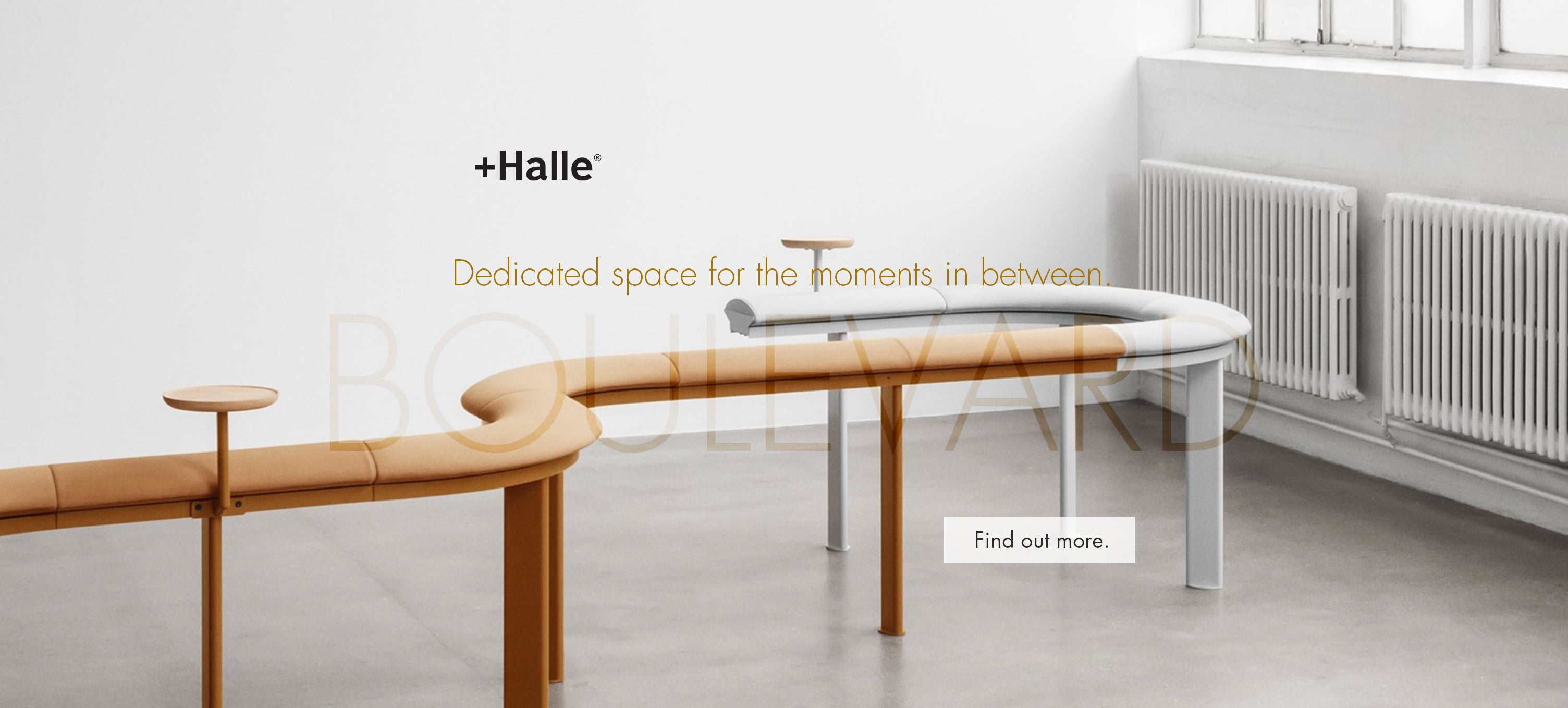 Plus Halle Boulevard reception seating