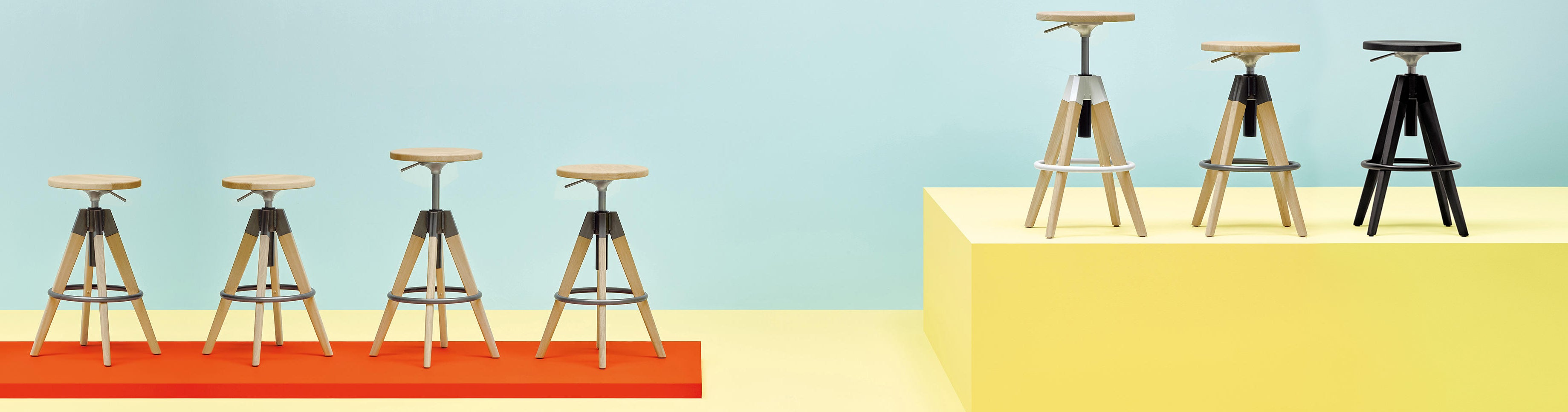 Pedrali Arki Stool Seating