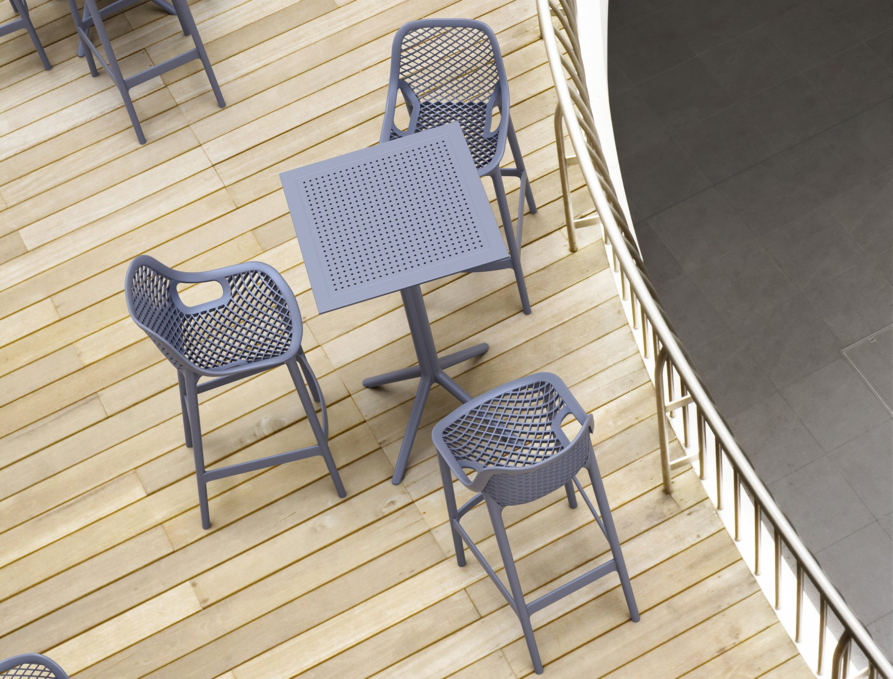 Furnlink Siesta Air Outdoor Barstool 75