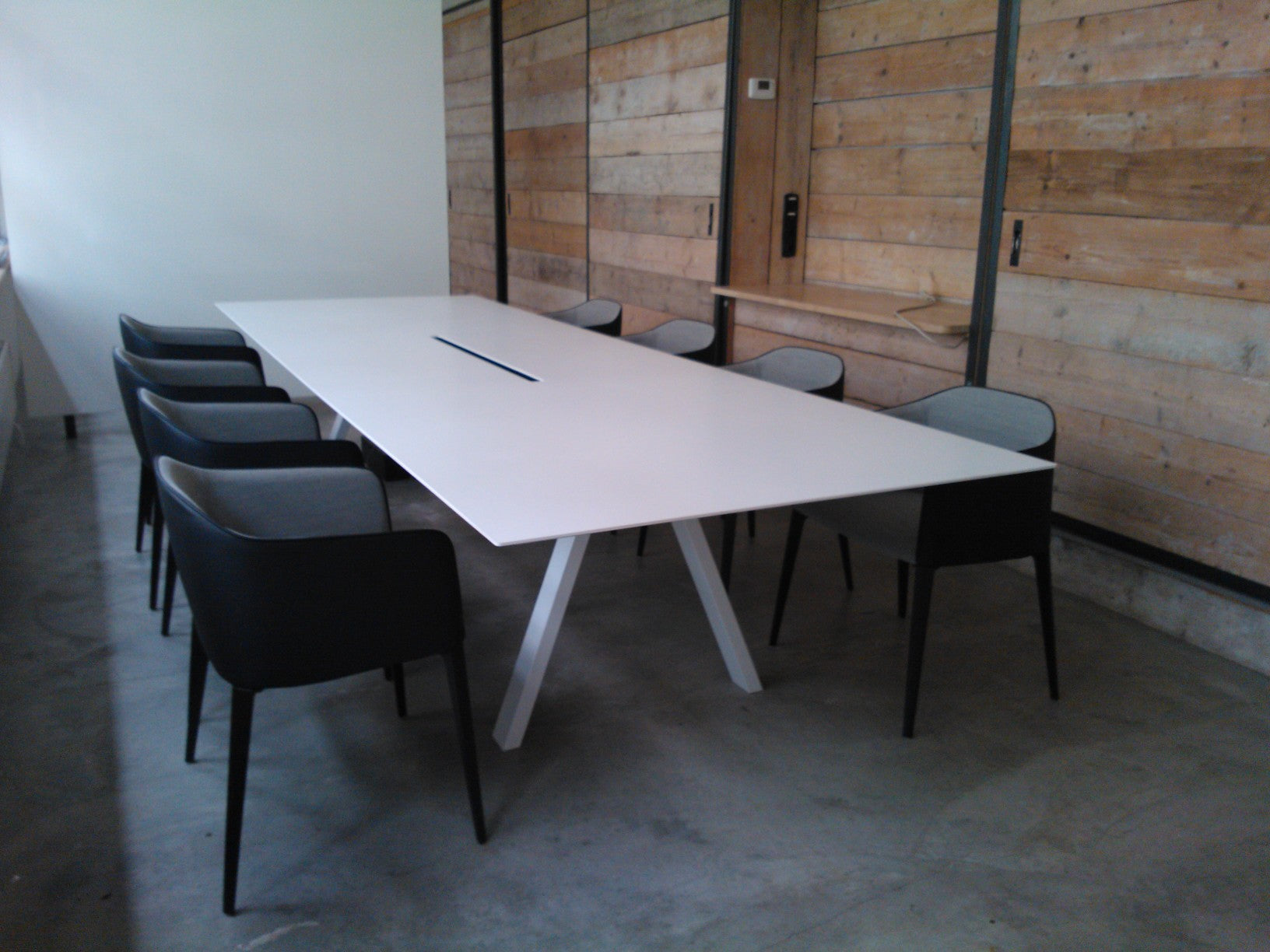 Pedrali Arki Table Cable Connected Workstation