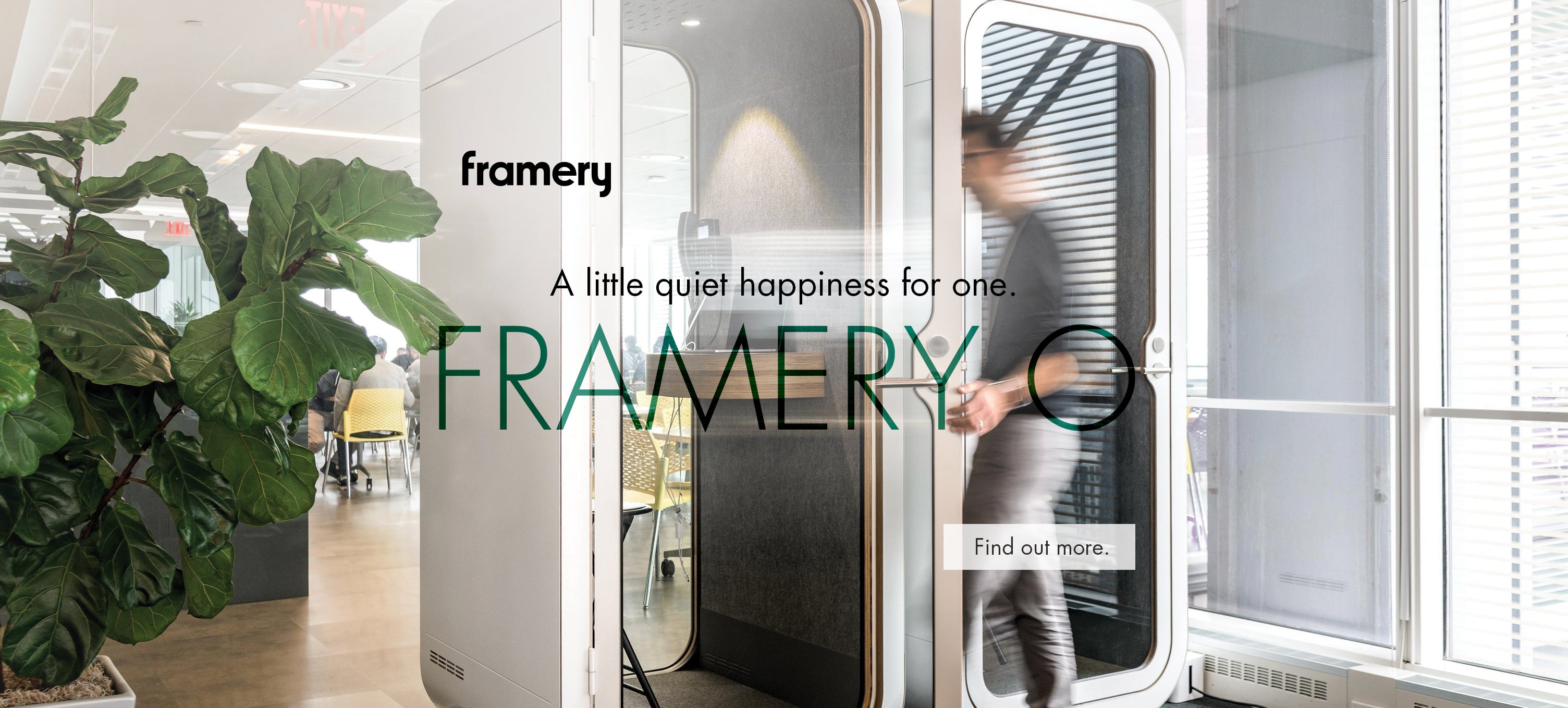 Framery O acoustic phone booth