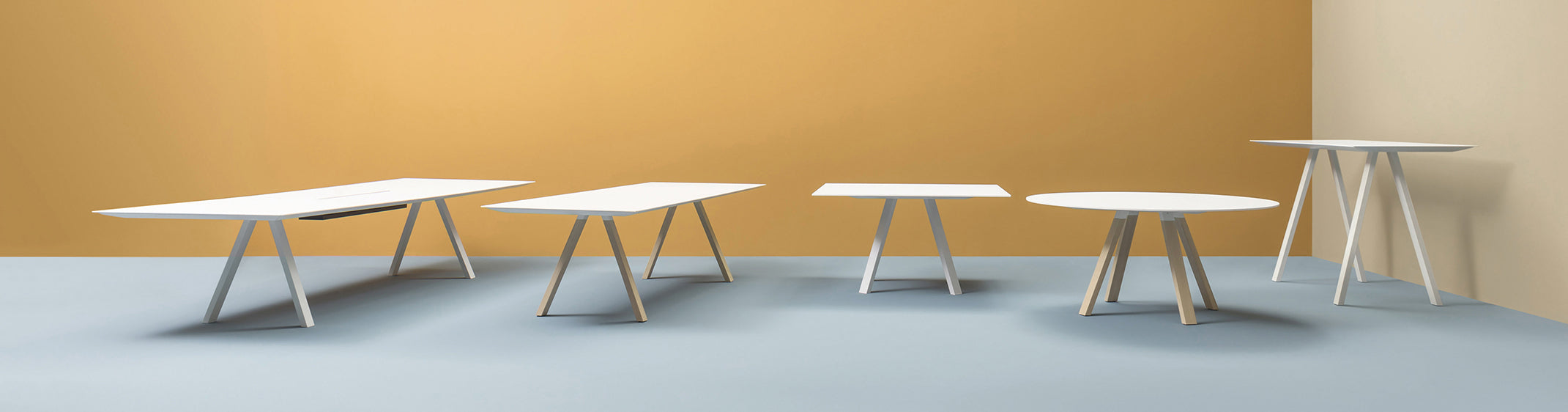 Pedrali Arki Table Seating Family
