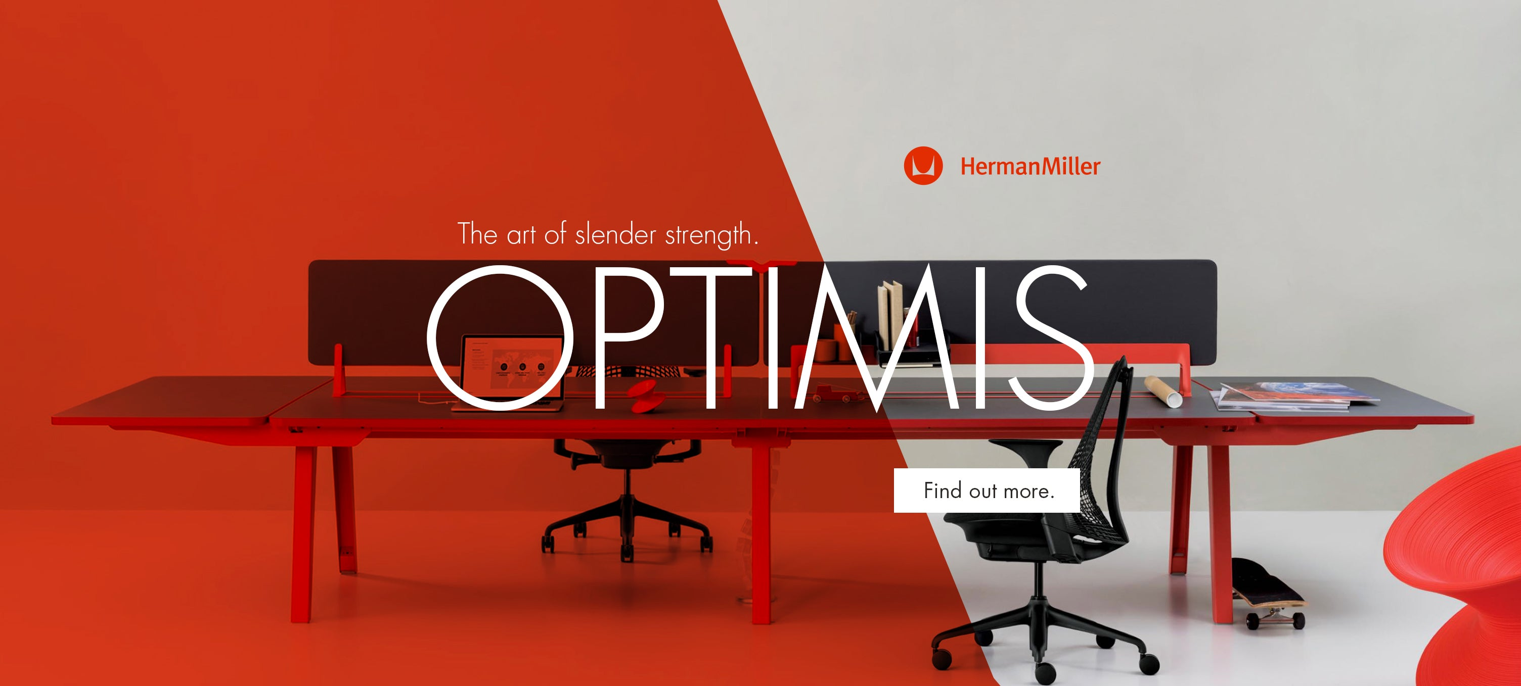 Herman Miller Optimis workstation