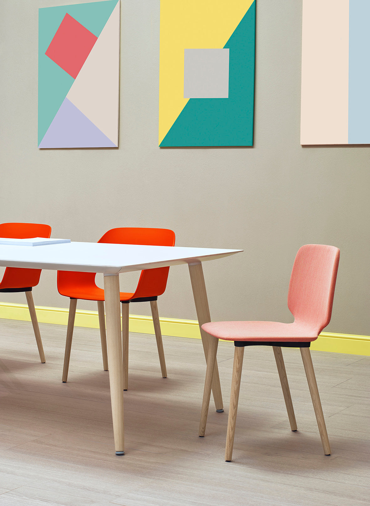 Pedrali Babila Dining Meeting Table