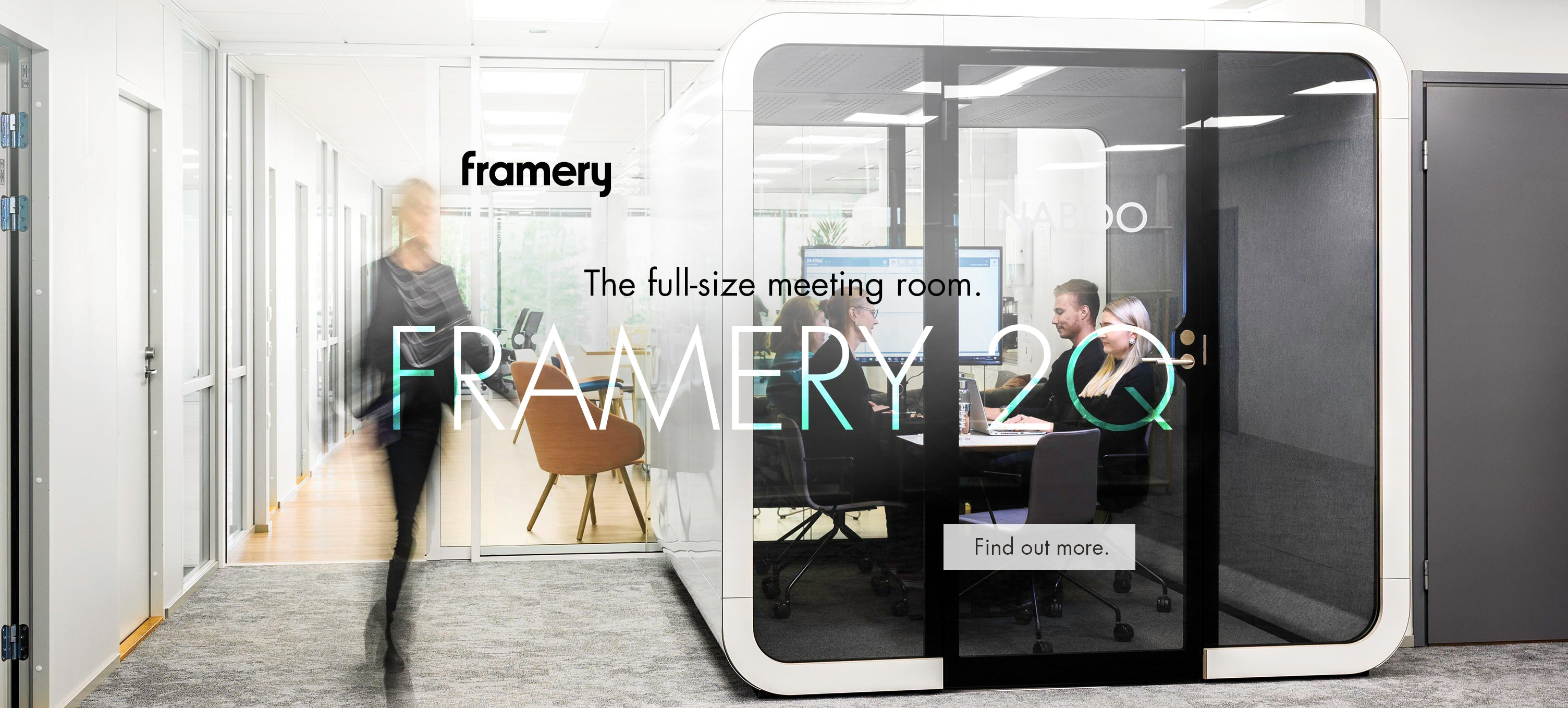 Framery 2Q acoustic meeting pod