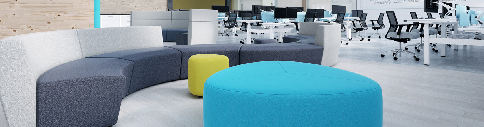 Chair Solutions Pebble Ottoman Soft Seating