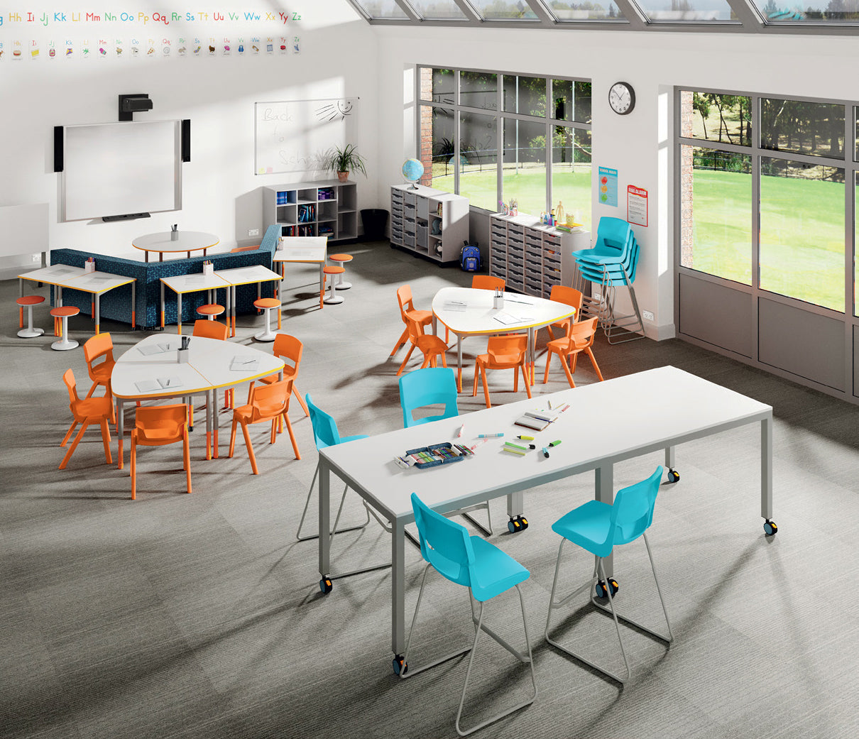 Sebel Tik Tok Stool Education Seating