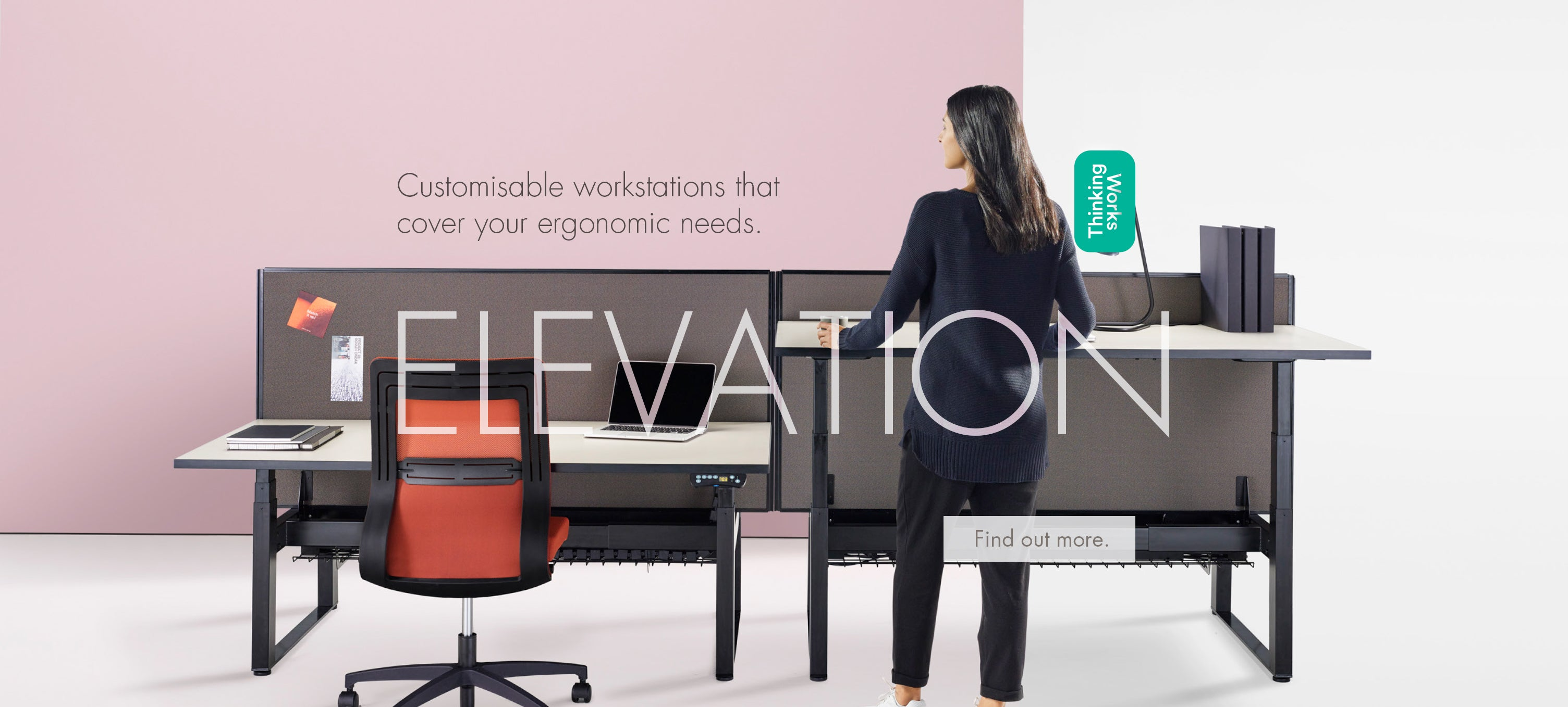Thinking Works Elevation workstation