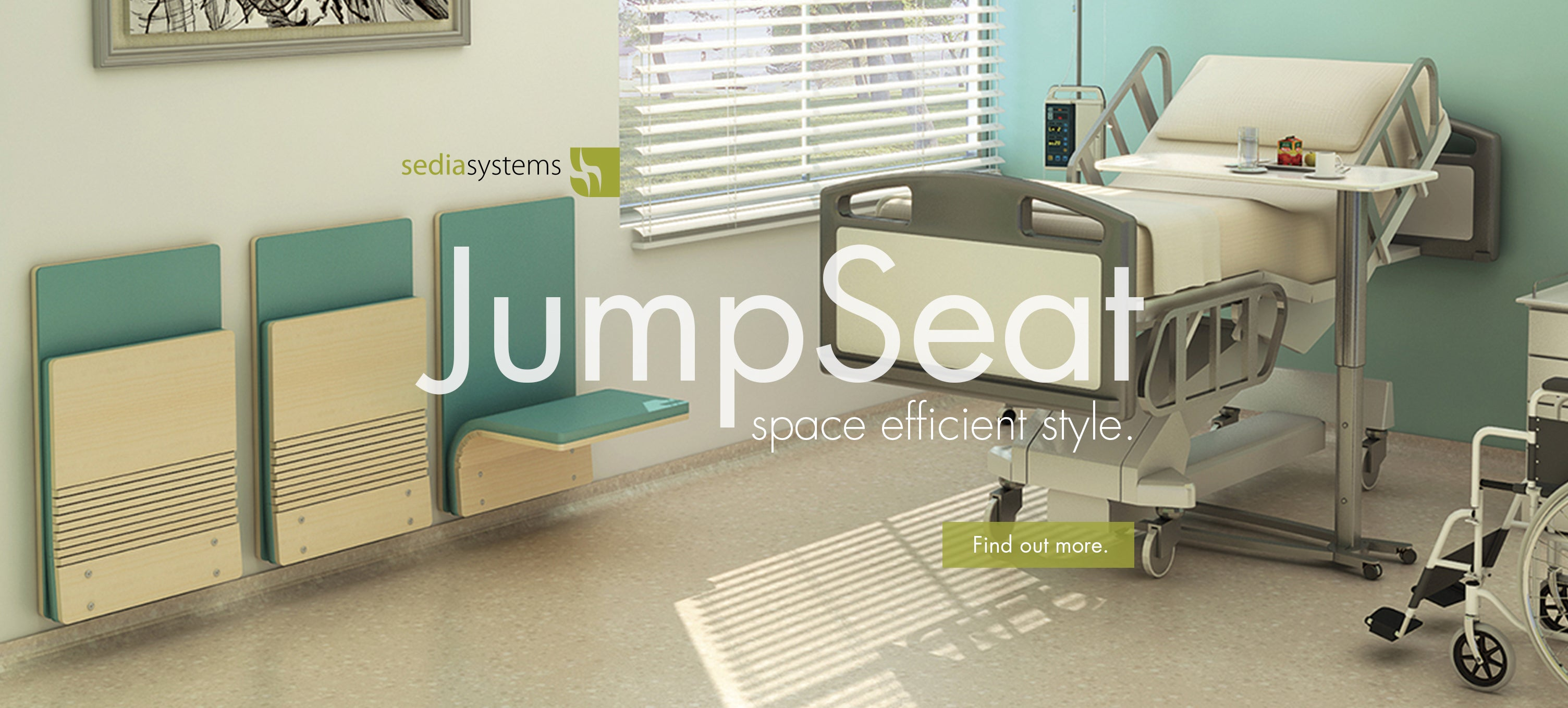 Sedia Systems Jump Seat health care seating