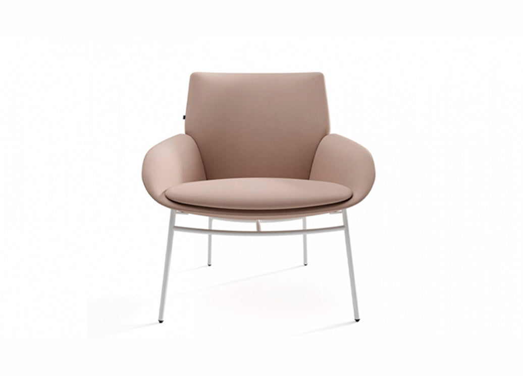 Actiu Noom Indoor Visitor Seating Upholstered Four Point
