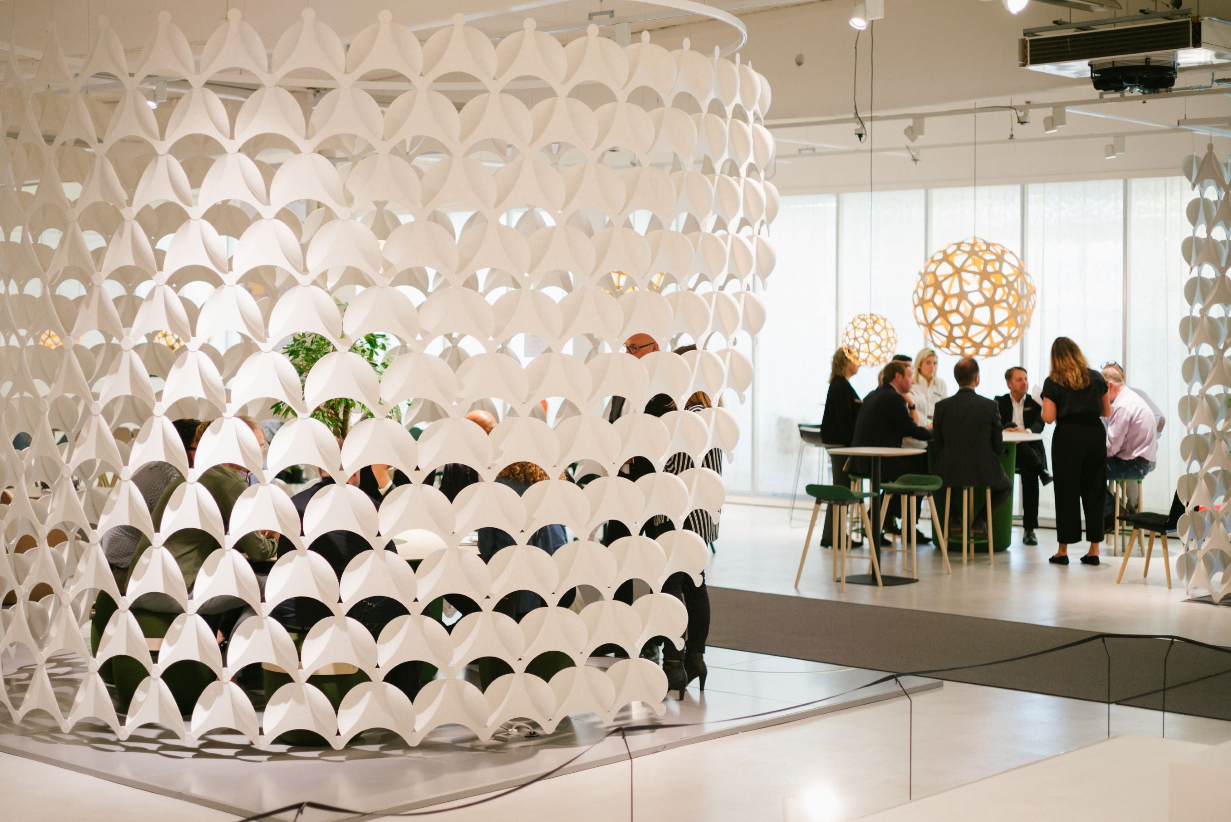 Offecct Membrane Acoustic Wall Room Divider