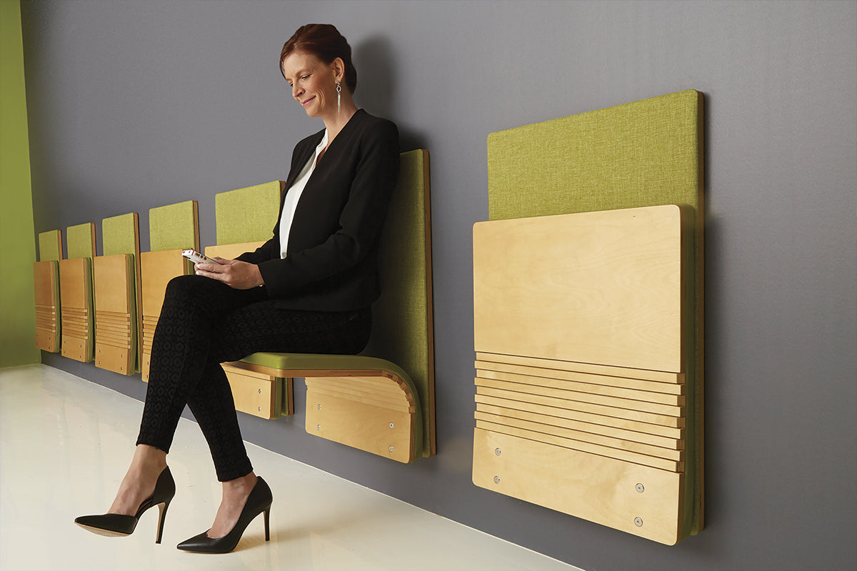 Sedia Systems JumpSeat Wall Mounted Folding Seat