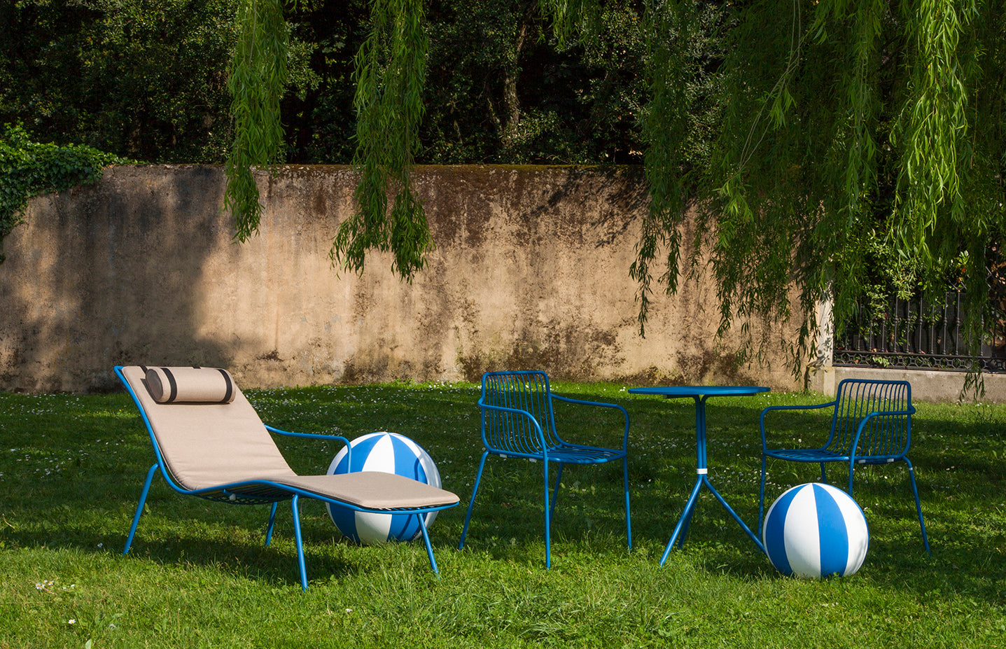 Pedrali Nolita 3654 Outdoor Chaise Lounge