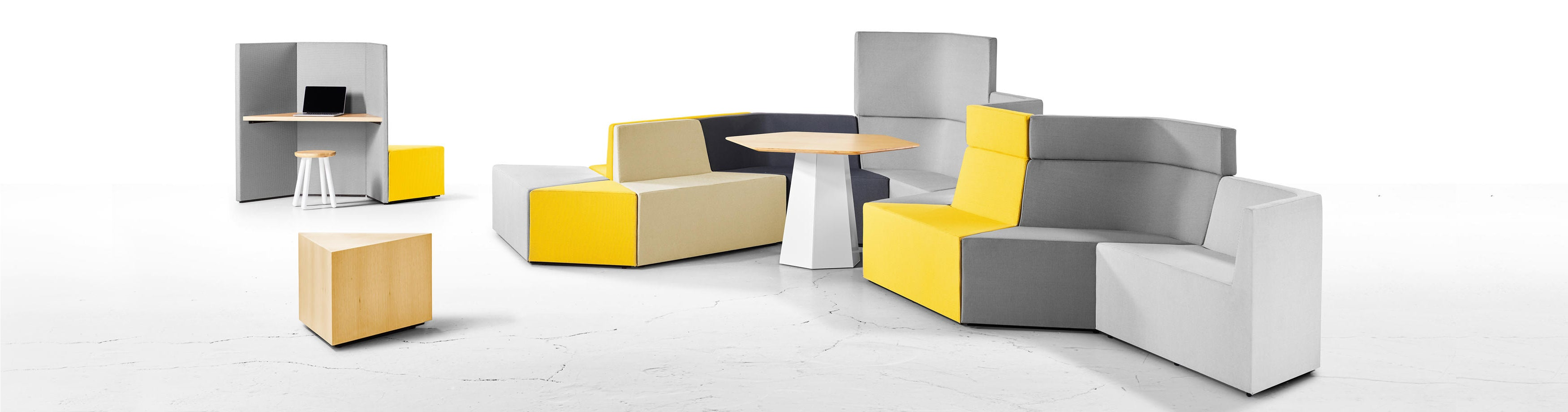 Derlot Editions Prisma Modular Seating