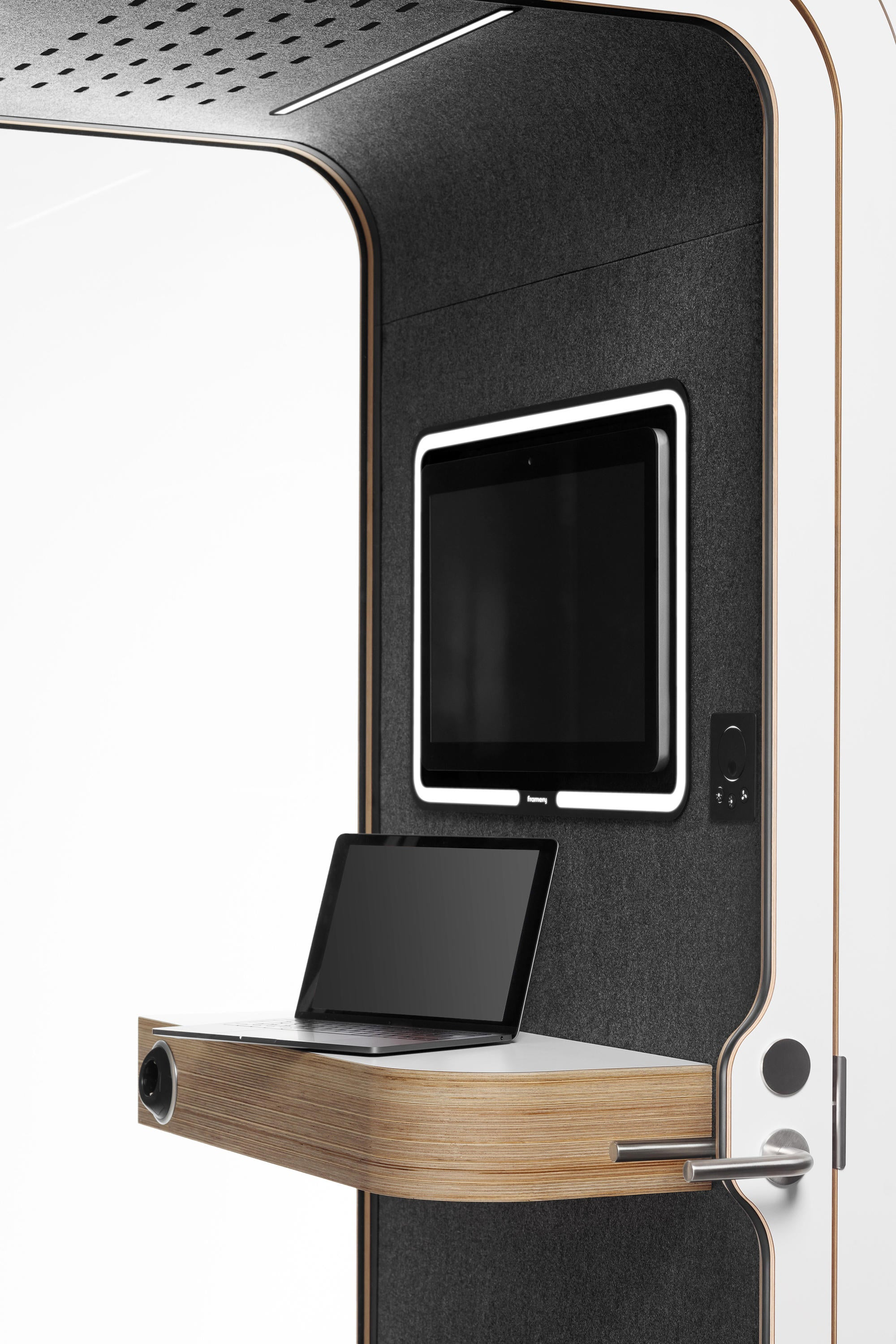 Framery O Phone Booth VCR Ready Meeting Acoustic Pod