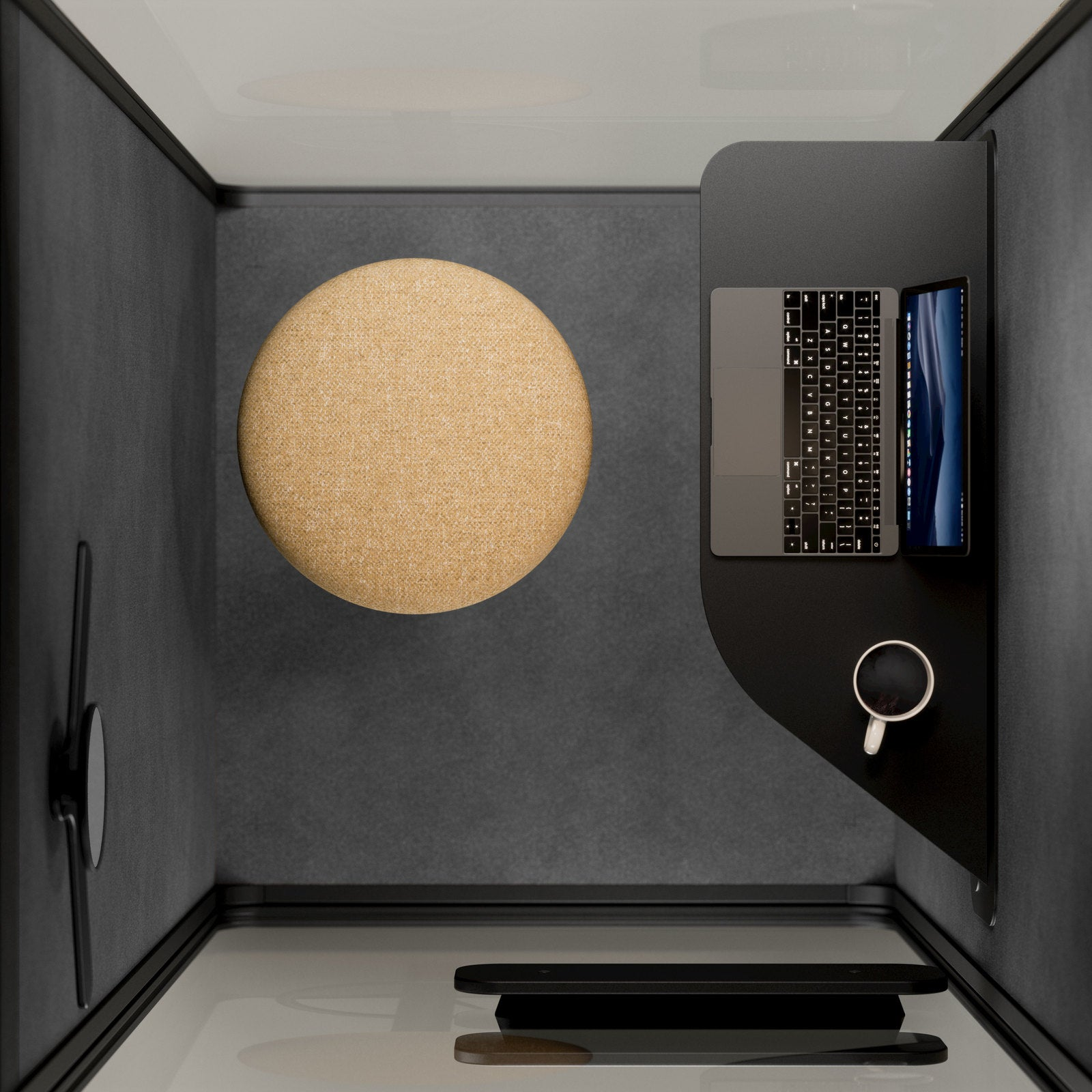 Martela PodBooth Acoustic Sound Proof Meeting Pod