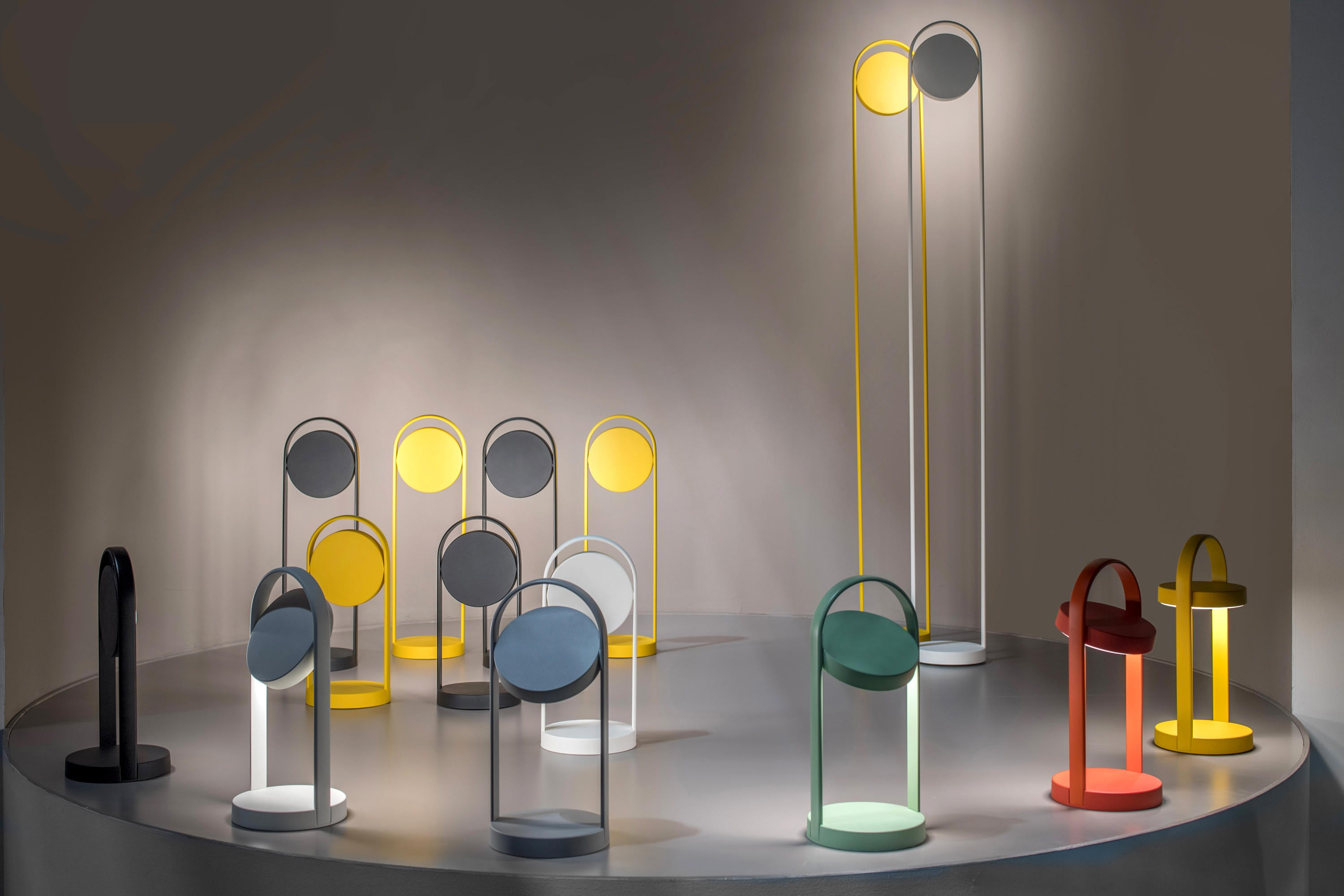 Pedrali Giravolta 1799/130 LED Floor Lamp