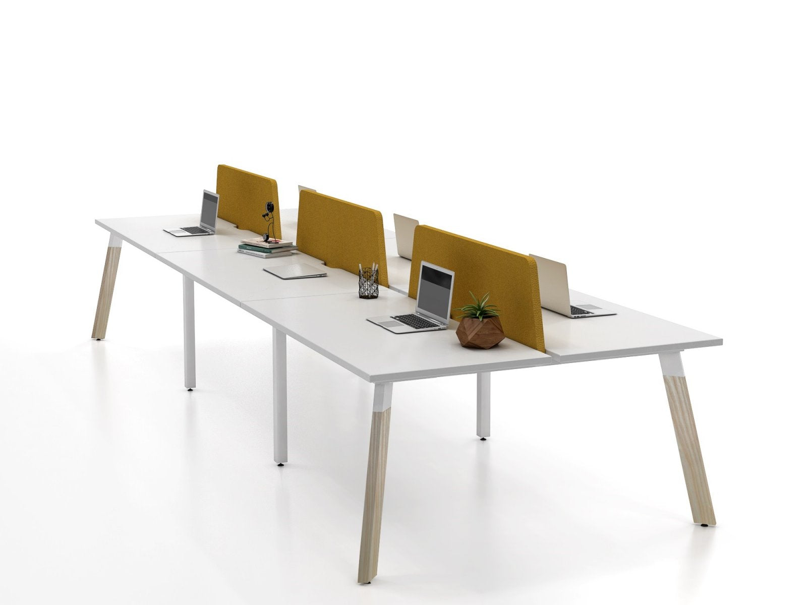 Diami Gen X2 Wood Desk Workstation
