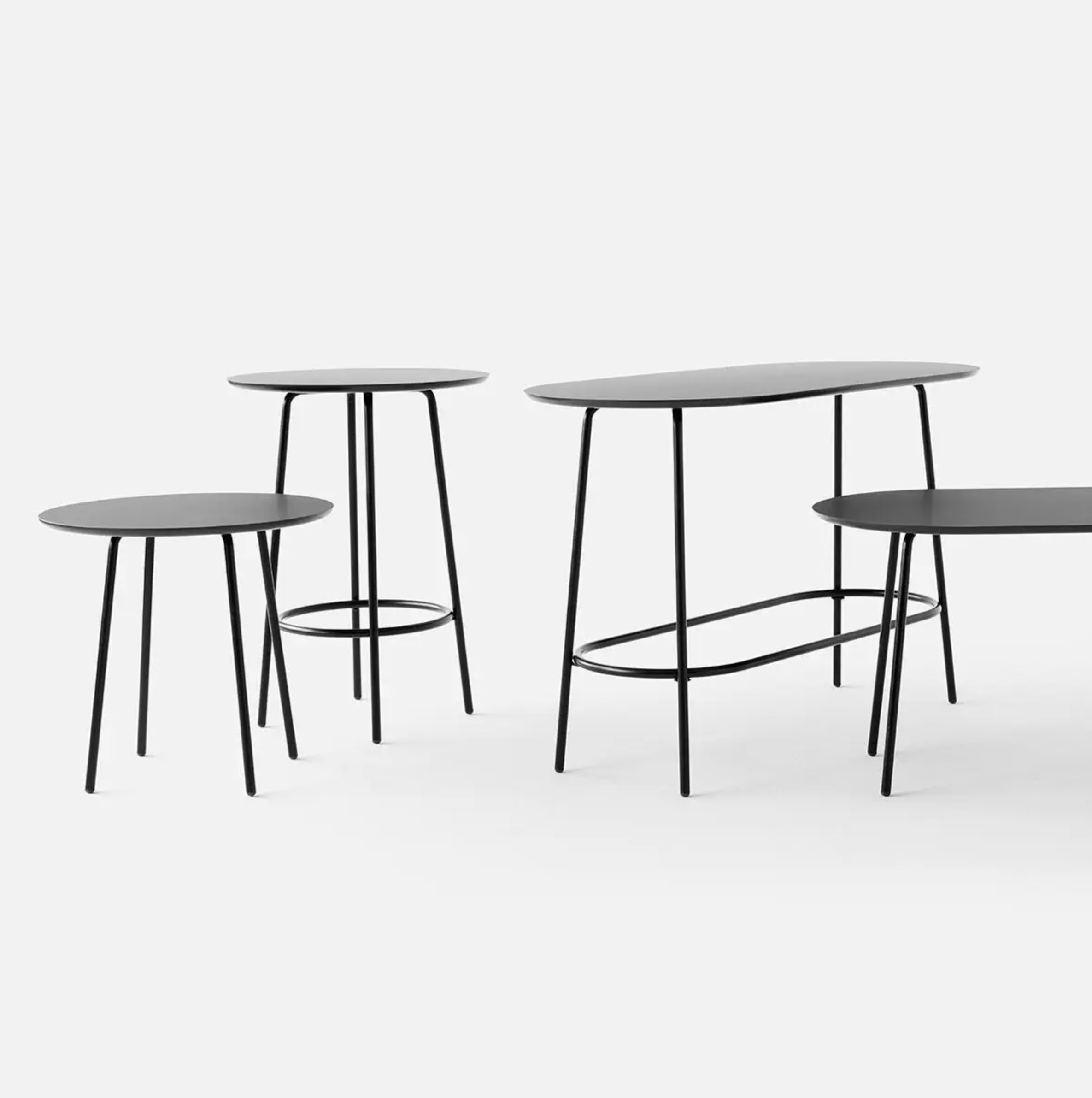 +Halle Low Nest Meeting Table