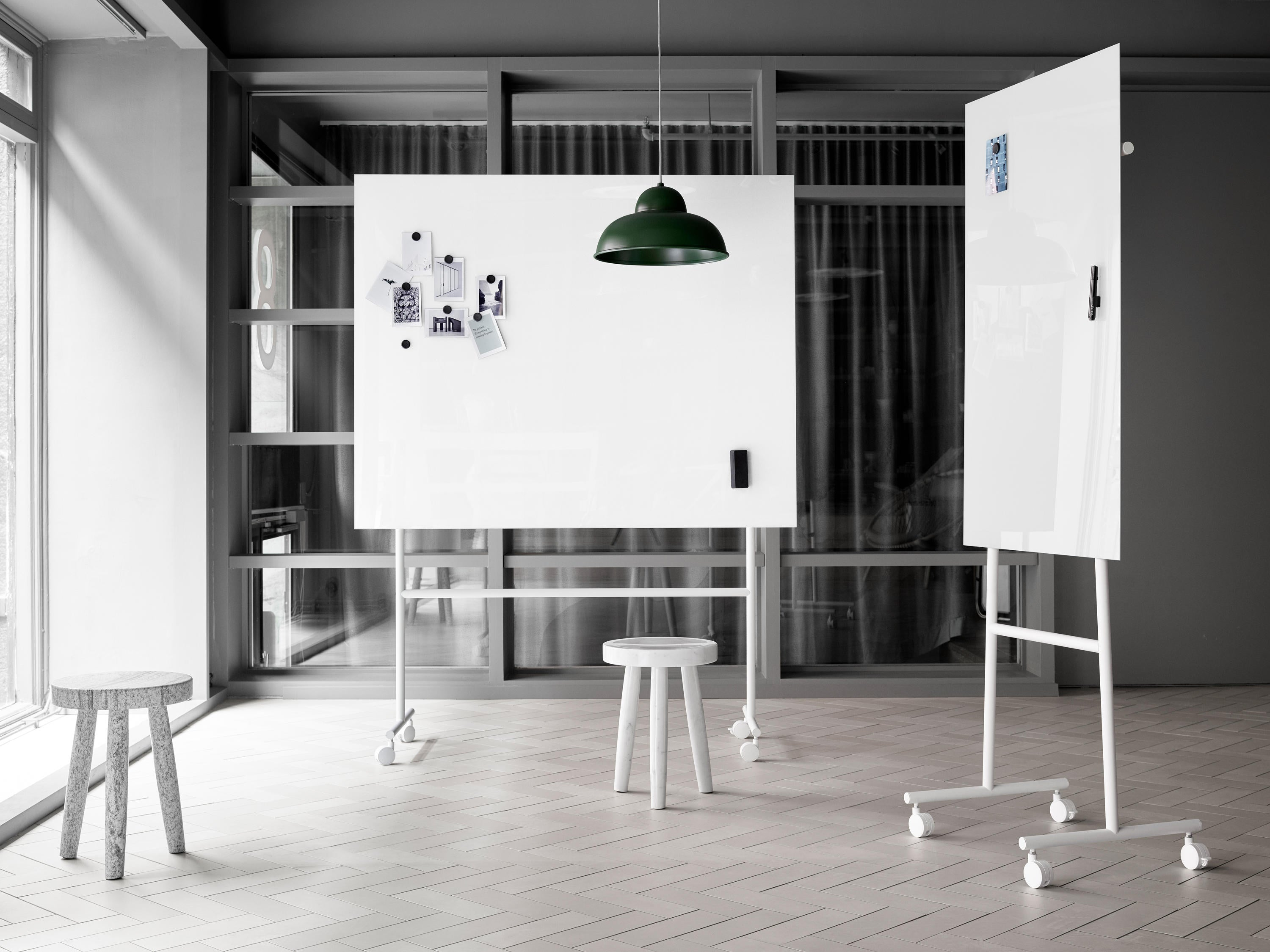 Lintex ONE Mobile Single Sided Whiteboard