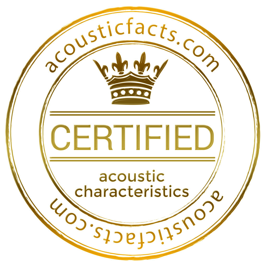 Acoustics Certified